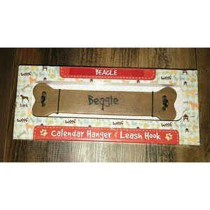 Dog Breed Store Calendar Hanger And Leash Hook For